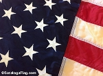 USA FLAG - Nylon- Embroidered Stars- 3x5ft